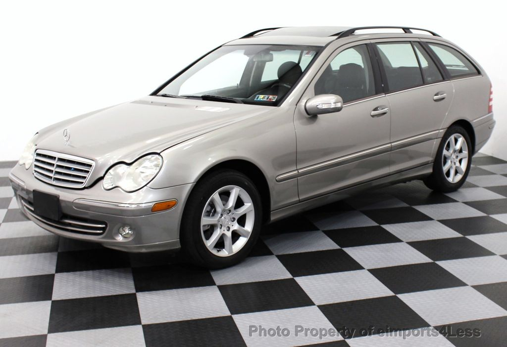 2005 used mercedes benz c class c240 4matic awd wagon at for Mercedes benz wagons
