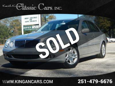 2005 Mercedes-Benz E-Class E320 4dr Sedan 3.2L *Ltd Avail*