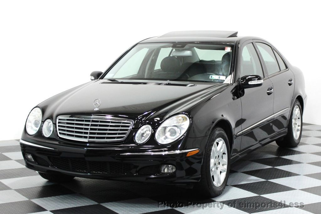 2005 used mercedes benz e class e320 4matic awd sedan