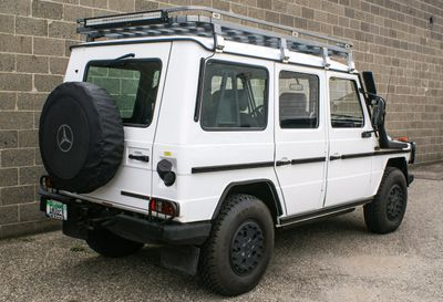"""2005 Mercedes-Benz G-Class AFRICAN SPEC 290GDT """"WORKER"""" RED CROSS SPEC - Click to see full-size photo viewer"""