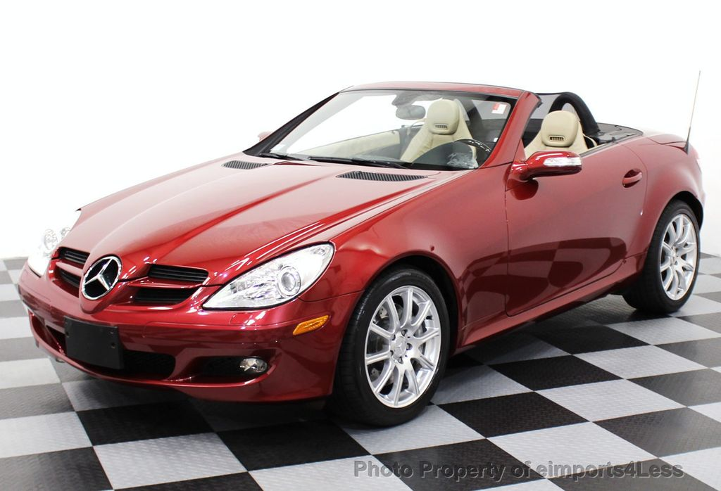 2005 used mercedes benz slk certified slk350 roadster at