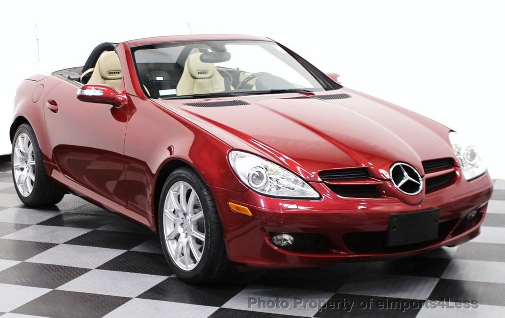 2005 used mercedes benz slk certified slk350 roadster at for Used 2005 mercedes benz