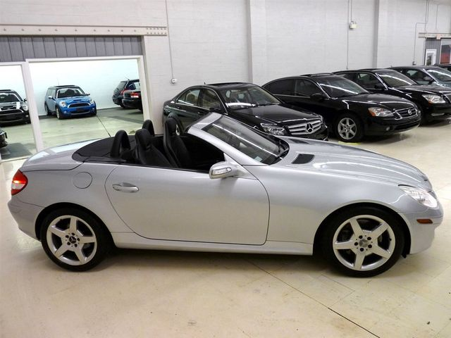 2005 Used Mercedes Benz Slk Class Slk350 At Luxury Automax Serving