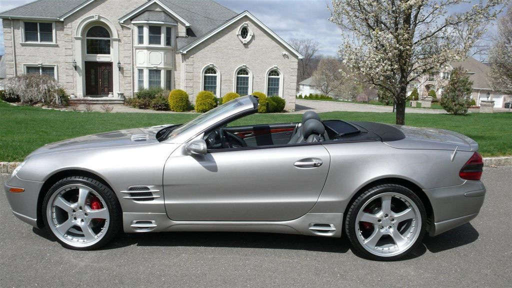2005 Used Mercedes Benz Sl Class Sl500 At Find Great Cars