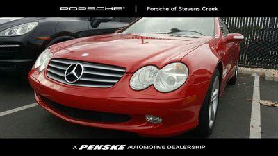 2005 Mercedes-Benz SL-Class SL500 2dr Roadster 5.0L Convertible