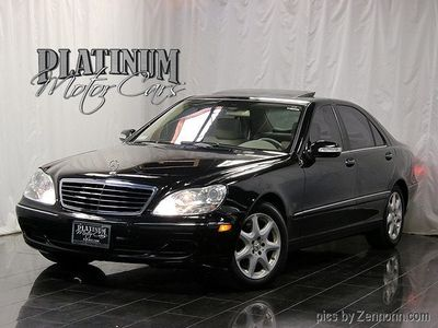 2005 Mercedes-Benz S-Class S500 4dr Sedan 5.0L 4MATIC