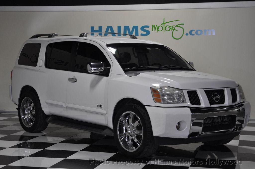 2005 Used Nissan Armada Se 2wd At Haims Motors Serving