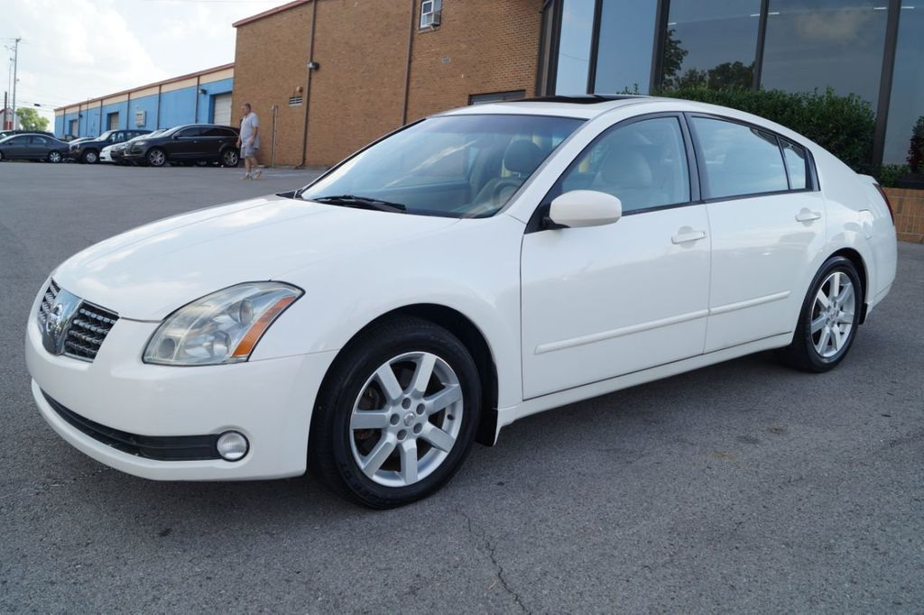 2005 Used Nissan Maxima 2005 NISSAN MAXIMA SL LTHR ROOF GREAT DEAL  615-730-9991 at Next Ride Motors Serving Nashville, TN, IID 19069515