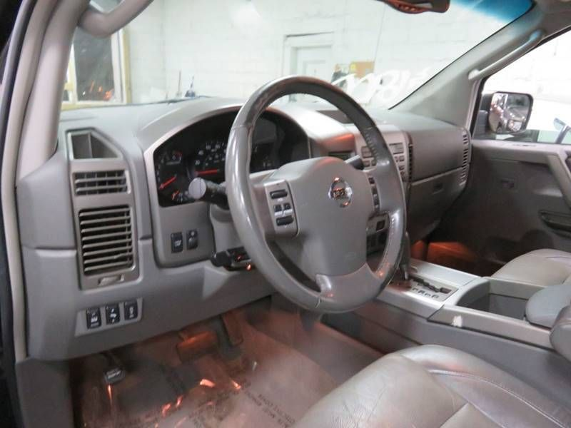 2005 Used Nissan Titan 4x4 Le Crew Cab At Contact Us Serving