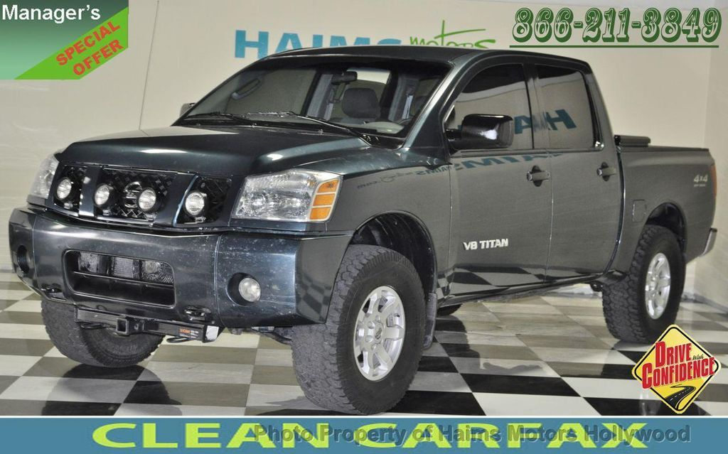 Ft Lauderdale Nissan >> 2005 Used Nissan Titan XE Crew Cab 4WD at Haims Motors ...