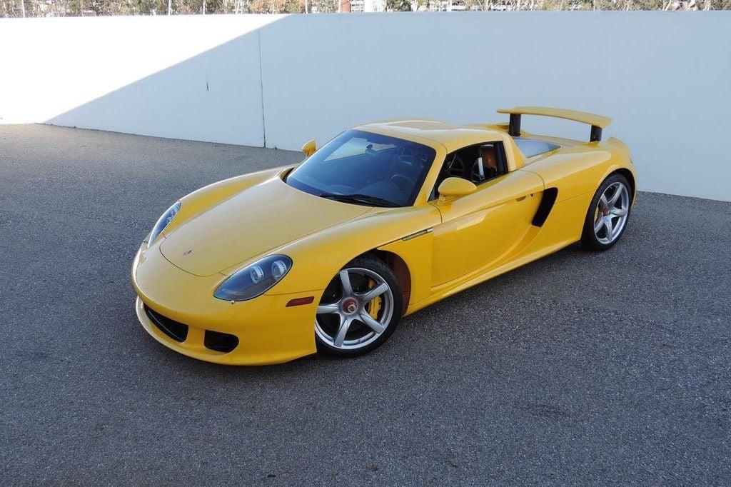 2005 Used Porsche Carrera Gt 2dr Carrera At Cnc Motors Inc Serving Upland Ca Iid 13766513