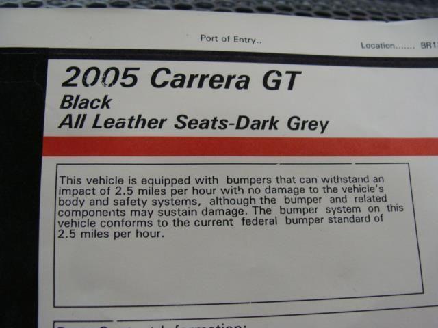 2005 Porsche Carrera GT Base Trim - 7074642 - 33