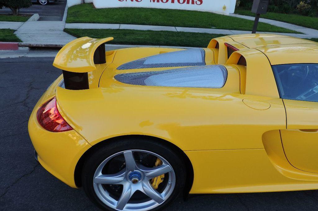 2005 Porsche Carrera GT Carrera GT - 13349893 - 68