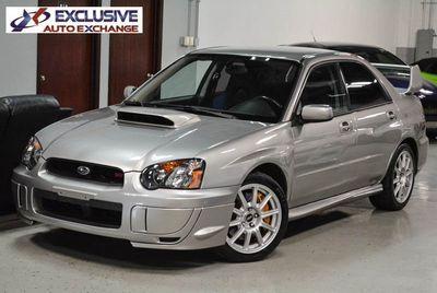 2005 Subaru Impreza Sedan Natl WRX STi