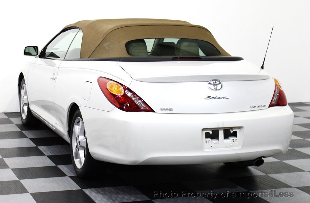 2005 used toyota camry solara solara sle v6 convertible at eimports4less serving doylestown. Black Bedroom Furniture Sets. Home Design Ideas