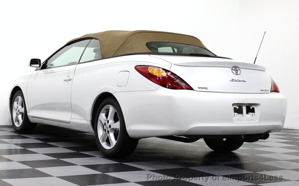 2005 used toyota camry solara solara sle v6 convertible at. Black Bedroom Furniture Sets. Home Design Ideas