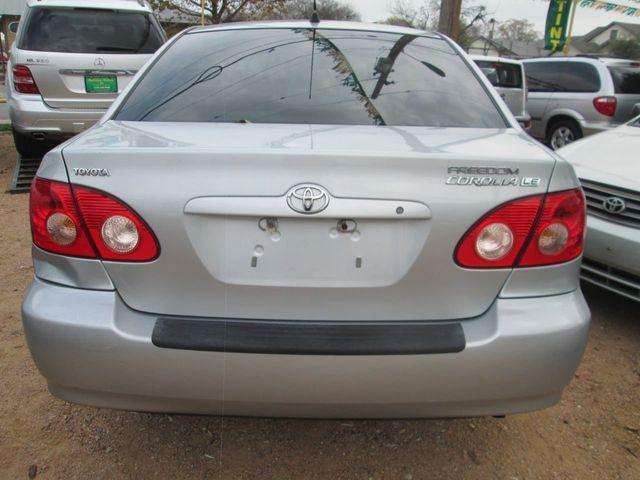2005 Toyota Corolla 4dr Sedan CE Automatic Sedan for Sale San Antonio, TX -  $6,995 - Motorcar com