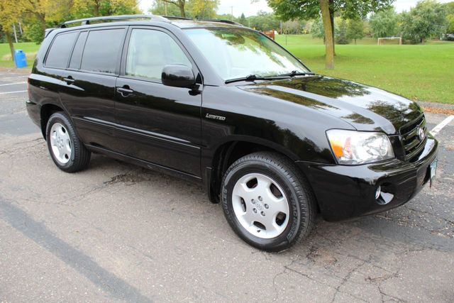 2005 Toyota Highlander 4WD V6 LIMITED MOONROOF LEATHER 3RD ROW SEATING