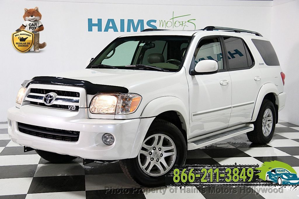 2005 Used Toyota Sequoia 4dr Limited At Haims Motors Serving Fort Lauderdale Hollywood Miami