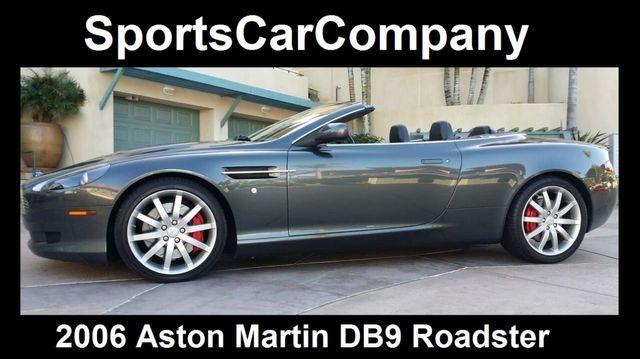 Used Aston Martin DB VOLANTE ROADSTER At Sports Car Company - 2006 aston martin db9 volante