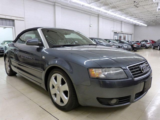 2006 Used Audi A4 2dr Cabriolet 18t Cvt At Luxury Automax Serving