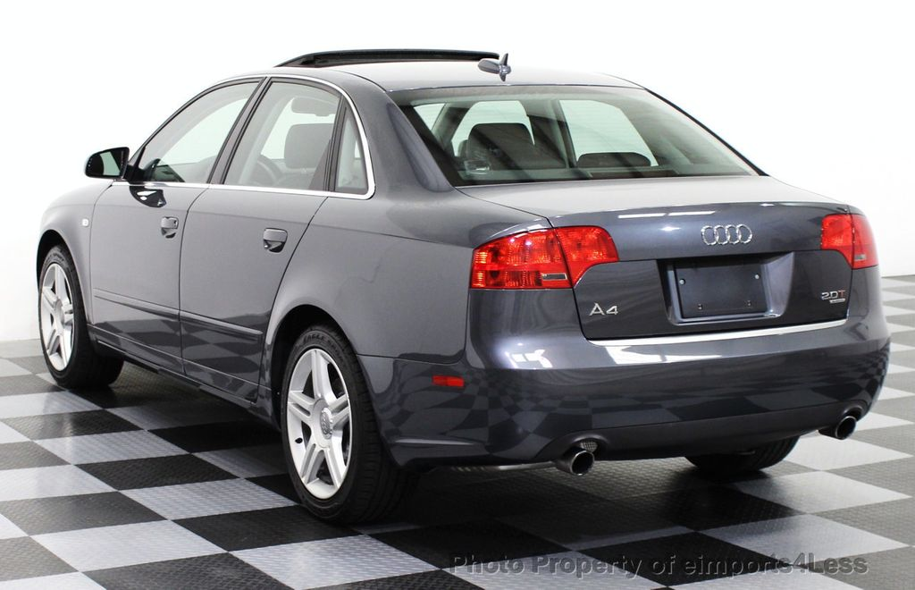 2006 Used Audi A4 A4 2 0t Quattro Awd Sedan 6 Speed Manual