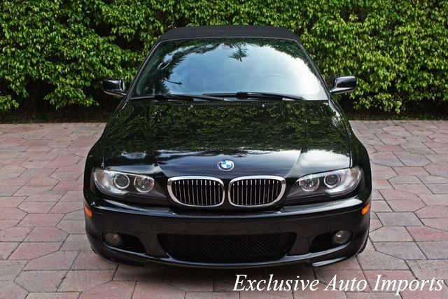 2006 BMW 3 Series 2006 BMW E46 330Ci 330i CONVERTIBLE ZHP M PERFORMANCE PACKAGE - Click to see full-size photo viewer