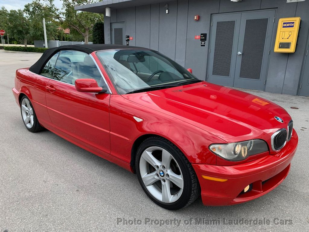 2006 Used Bmw 3 Series 325ci Convertible Sport Package At Miami Lauderdale Cars Serving Pompano Beach Fl Iid 20508485
