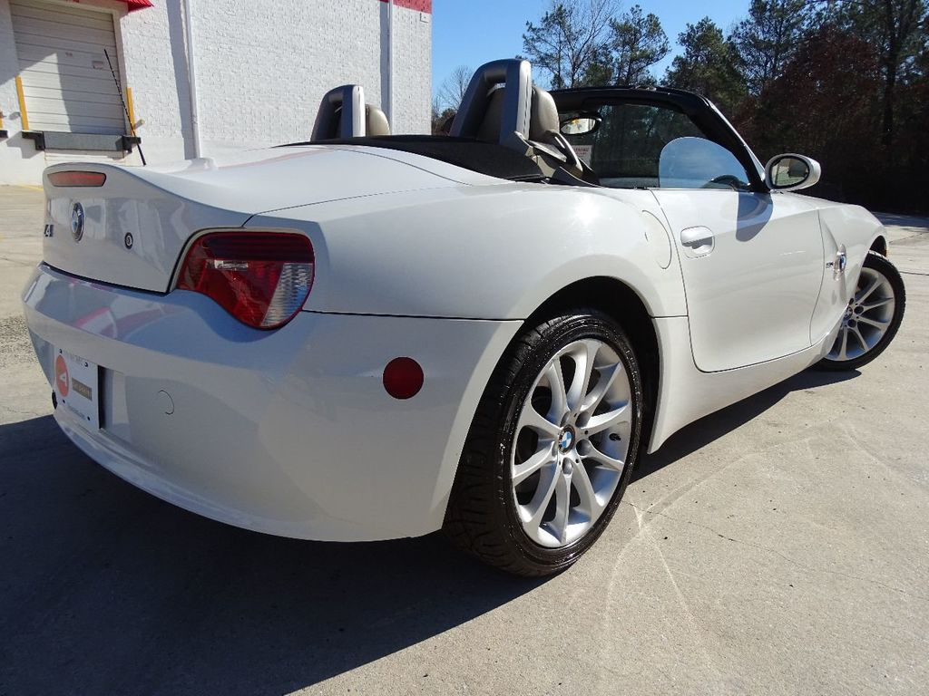 2006 Used Bmw Z4 Roadster 3 0i At One And Only Motors