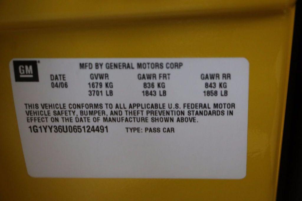 2006 Chevrolet Corvette 2dr Convertible - 15786084 - 38