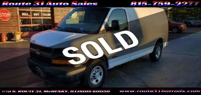 "2006 Chevrolet Express Cargo Van 2500 135"" WB RWD - Click to see full-size photo viewer"