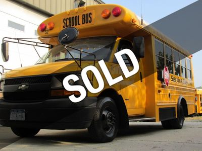 2006 Chevrolet Express Cutaway School Bus