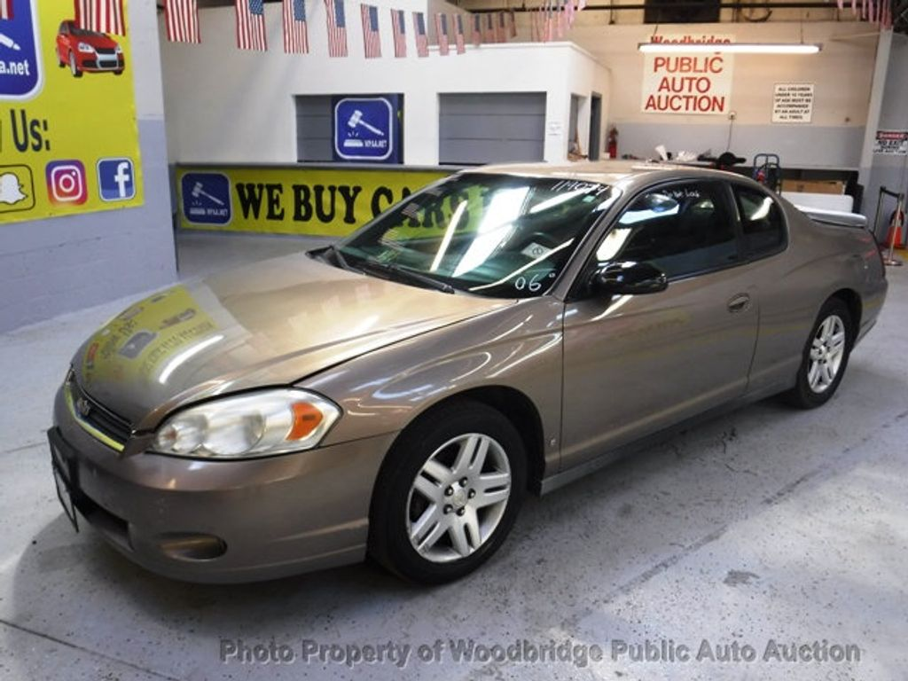 2006 Used Chevrolet Monte Carlo 2dr Coupe LT 3.9L at ...