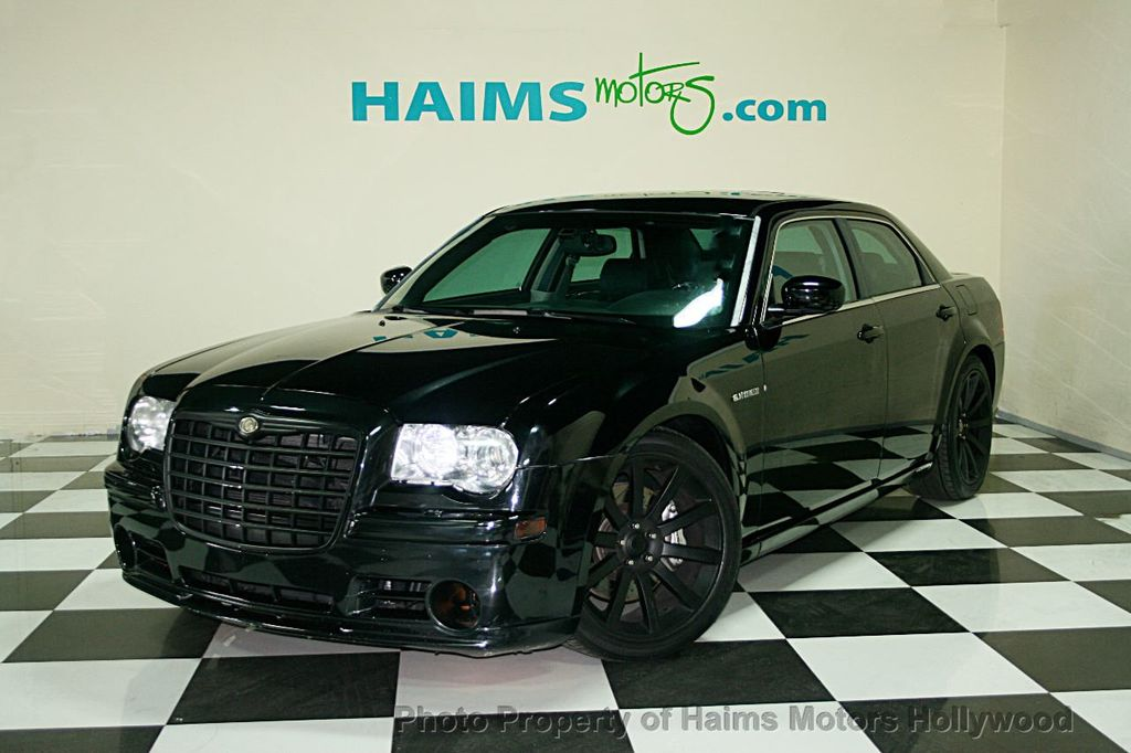 2006 used chrysler 300 4dr sedan 300c srt8 at haims motors serving fort lauderdale hollywood. Black Bedroom Furniture Sets. Home Design Ideas