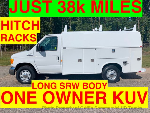 2006 Ford E350HD SRW JUST 38k MILES WALK IN UTILITY BODY KUV ONE OWNER VA TRUCK! LADDER RACKS HITCH RECEIVER