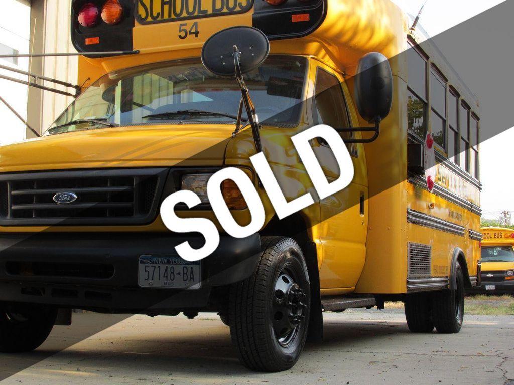 2006 ford e 450 school bus 11161156 0