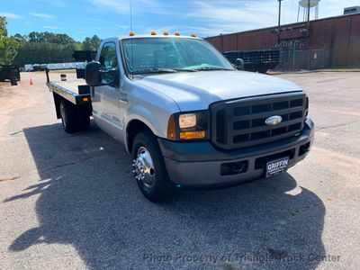 2006 Ford F350HD JUST 17k MILES 12 FOOT FLAT BED LIFT GATE ONE OWNER!! PRE EMISSION DIESEL - Click to see full-size photo viewer