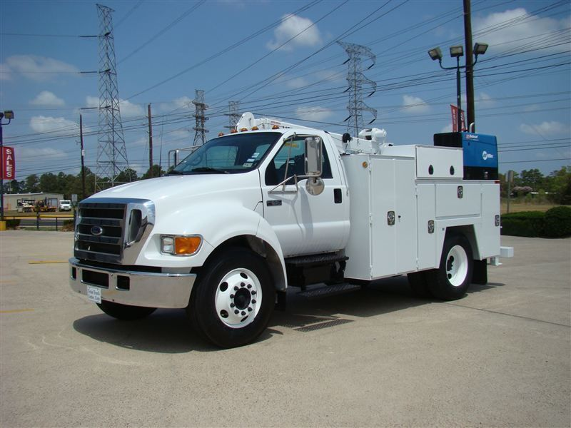 2006 used ford f650 fuel lube truck at texas truck. Black Bedroom Furniture Sets. Home Design Ideas