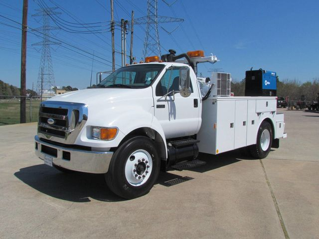 2006 Ford F750 Mechanics Service Truck - 15680584 - 4
