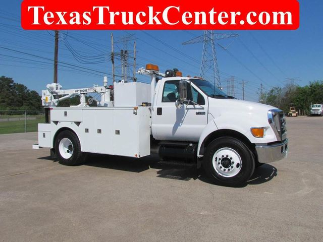 2006 Ford F750 Utility-Service - 15423672 - 2