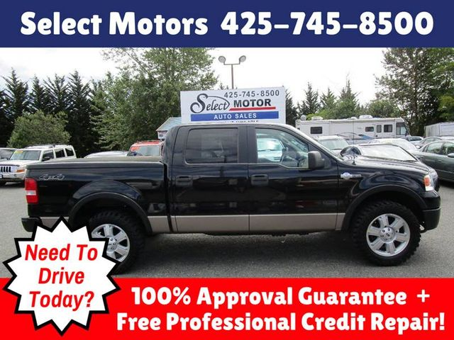2006 Ford F 150 Lariat 4dr Supercrew 4wd Styleside 5 5 Ft Sb Truck Not Specified Not Specified For Sale Lynnwood Wa 12 988 Motorcar Com