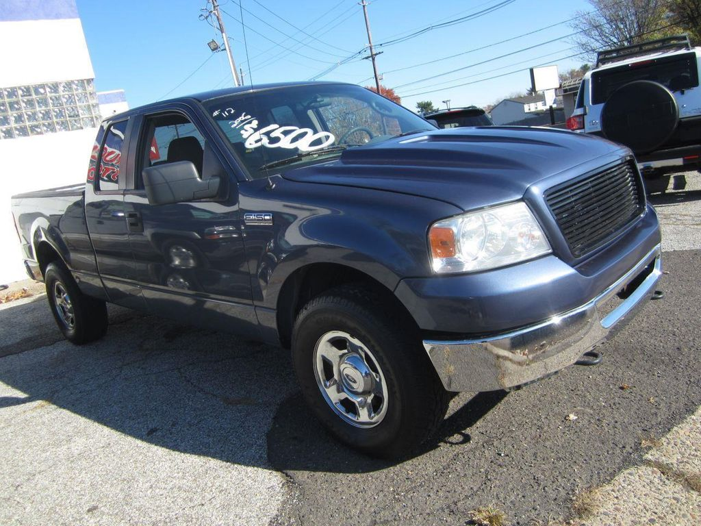 2006 Used Ford F 150 Xlt 4x4 Super Cab 4dr At Contact Us Wheels 12824838