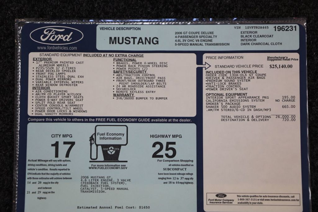 2006 Ford Mustang Roush Stage 3 - 16909773 - 99