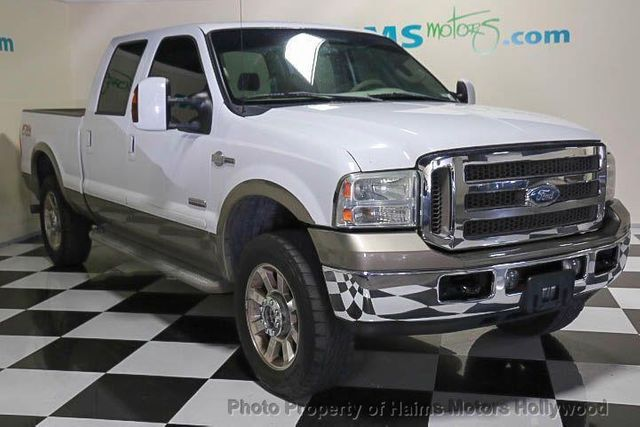 2006 used ford super duty f 250 crew cab 156 king ranch at haims motors serving fort lauderdale. Black Bedroom Furniture Sets. Home Design Ideas