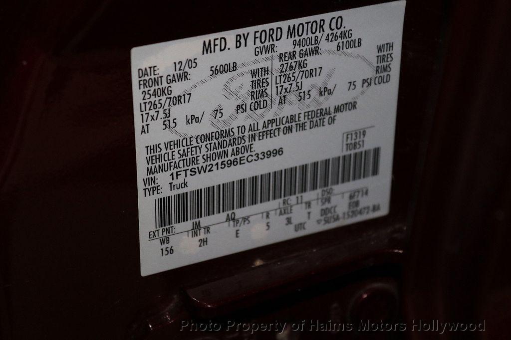 """2006 Ford Super Duty F-250 Crew Cab 156"""" XLT 4WD - 18619136 - 30"""
