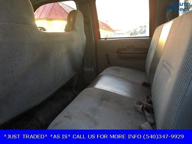 2006 Ford Super Duty F-550 DRW F550 CREW CAB * 6.0 POWERSTROKE * 10' CONCRETE BODY W/RACKS  - 17301036 - 5