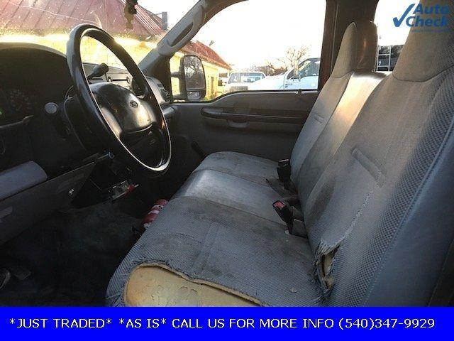 2006 Ford Super Duty F-550 DRW F550 CREW CAB * 6.0 POWERSTROKE * 10' CONCRETE BODY W/RACKS  - 17301036 - 6