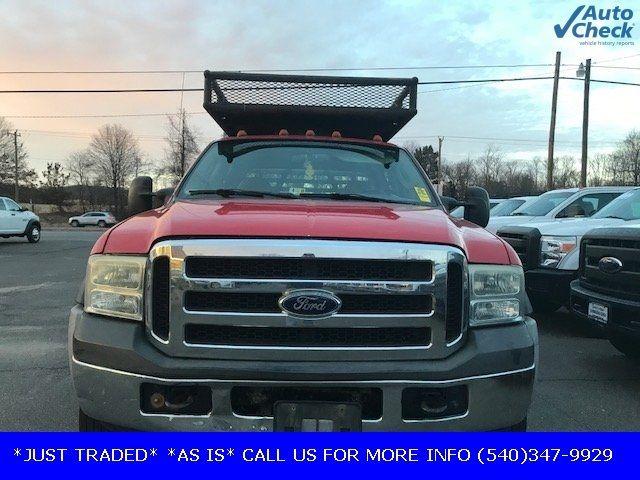 2006 Ford Super Duty F-550 DRW F550 CREW CAB * 6.0 POWERSTROKE * 10' CONCRETE BODY W/RACKS  - 17301036 - 8