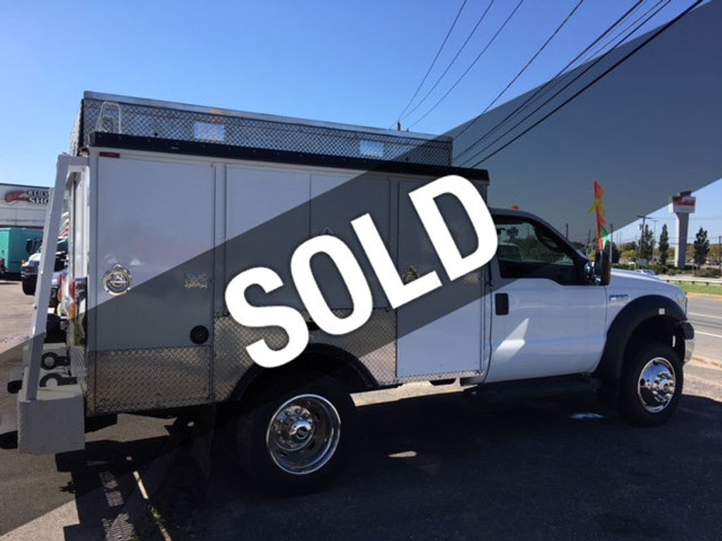 2006 Ford Super Duty F-550 Enclosed Utility Service Truck ESU EMS - 17288489 - 0