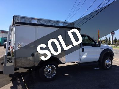 2006 Ford Super Duty F-550 Enclosed Utility Service Truck